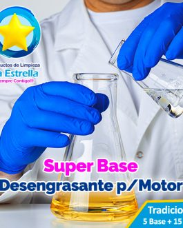 SUPER BASE DESENGRASANTE P/MOTOR (5 + 15 AGUA)