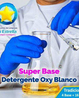 SUPER BASE DETERGENTE OXY BLANCO (4+16 AGUA)