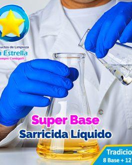 SUPER BASE SARRICIDA LIQUIDO (8 + 12 AGUA)