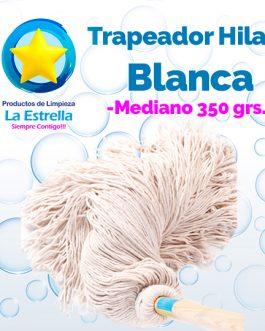 TRAPEADOR HILAZA BLANCA MEDIANO ***