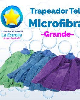 TRAPEADOR TELA MICROFIBRA GRANDE C/CHUPON***