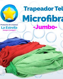 TRAPEADOR TELA MICROFIBRA JUMBO C/CHUPON***