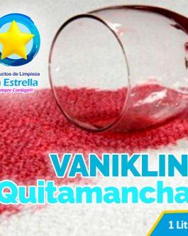 VANIKLIN QUITAMANCHAS LIQUIDO P/ROPA BLANCA Y COLOR (ENVASADO 1 L.)