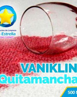 VANIKLIN QUITAMANCHAS LIQUIDO P/ROPA BLANCA Y COLOR (ENVASADO 500 ML)